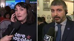 Viola Carofalo esulta e Di Stefano dà la colpa ai media: le reazioni opposte di Casapound e Potere al