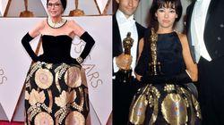 Rita Moreno indossa lo stesso abito di quando vinse nel '62 con