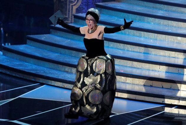 90th Academy Awards - Oscars Show - Hollywood, California, U.S., 04/03/2018 - Presenter Rita Moreno....