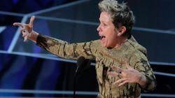 Frances McDormand ha avuto una standing ovation agli Oscar dicendo solo queste due parole:
