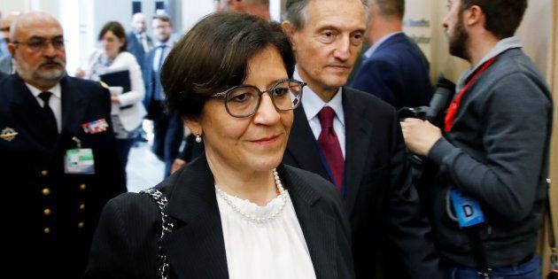 Il ministro della Difesa Elisabetta Trenta:
