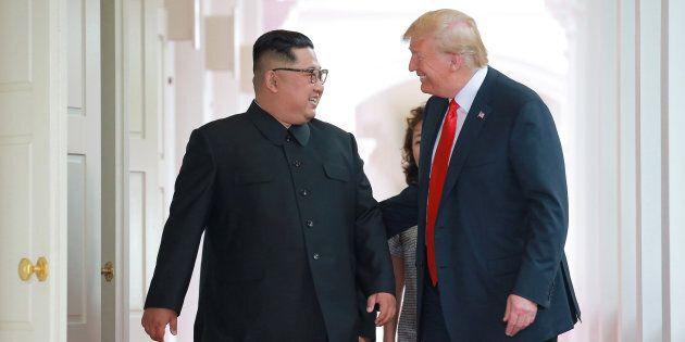 Donald Trump ha fatto a Kim Jong Un un bizzarro regalo per sancire la propria