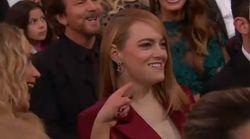 Emma Stone non ha ancora smaltito la delusione dell'anno scorso (la gag di Jennifer Lawrence è davvero