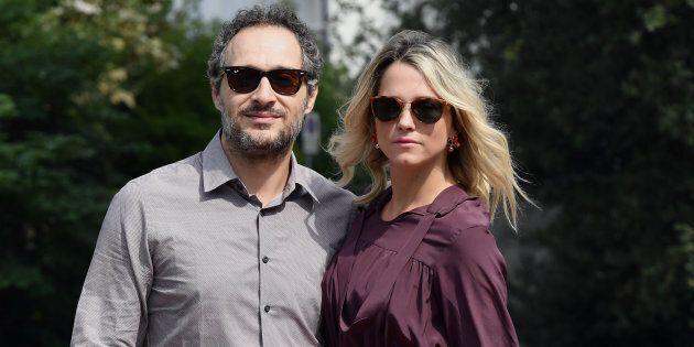 Il regista Claudio Santamaria e la giornalista Francesca Barra si