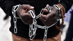 Riserve di schiavi sulle coste