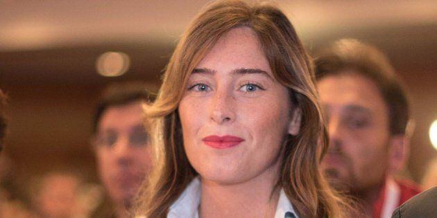 Il tributo appassionato di Maria Elena Boschi a Matteo Renzi nel giorno dell'elezione di Martina a segretario
