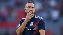 Follia Ribery, schiaffi a un giornalista