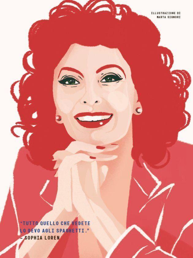 Sophia Loren disegnata da Marta Signori - copy 2017 Timbuktu Labs,