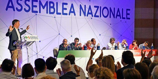 Roma. Assemblea Nazionale del PD. Matteo