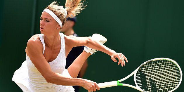 Camila Giorgi ai quarti di finale di Wimbledon. L'italiana batte la russa Ekaterina Makarova 6-3,