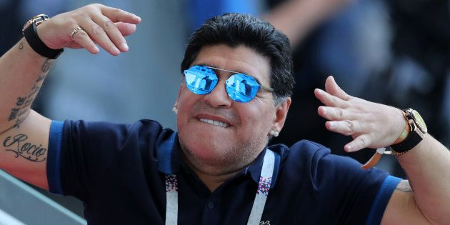 Maradona e la sua teoria sui Mondiali: