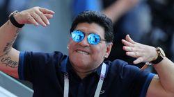 Maradona contro il colonialismo delle