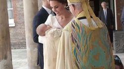 Mamma Kate è radiosa per il battesimo del principino Louis (e ruba la scena a