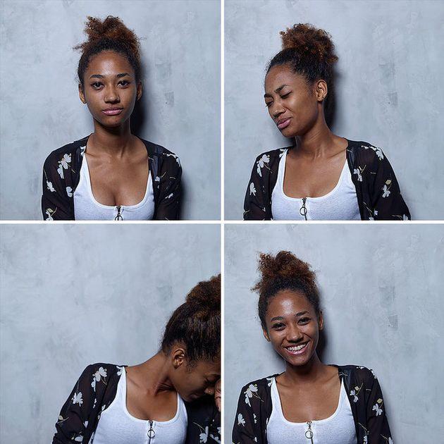 Questa serie di foto cattura le donne prima, durante e dopo