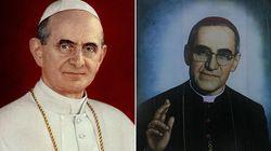 Paolo VI e Oscar Romero presto
