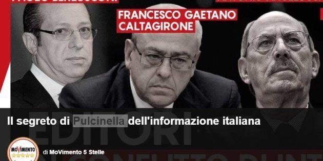 Sul Blog delle Stelle arriva la lista dei cattivi editori: la top 5 dei giornali italiani