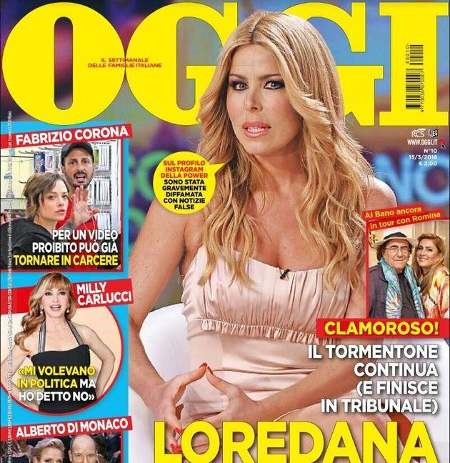 Loredana Lecciso querela Romina Power per un post