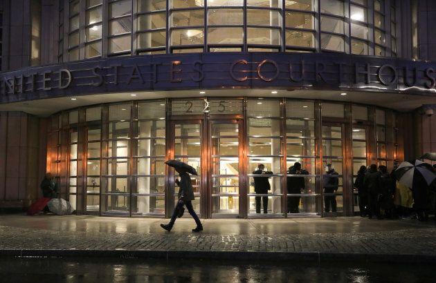 La corte federale di Brooklyn dove si svolge il