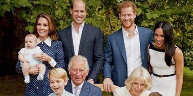 La foto di famiglia scattata in occasione del 70esimo compleanno del principe