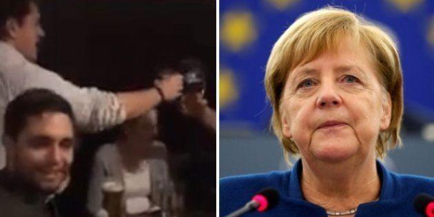 Germania, giovani Cdu imbarazzano Angela Merkel: i militanti cantano l'inno