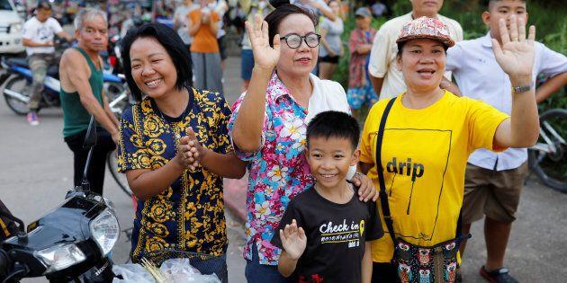 Dopo il salvataggio dei 12 ragazzi thailandesi il mondo festeggia