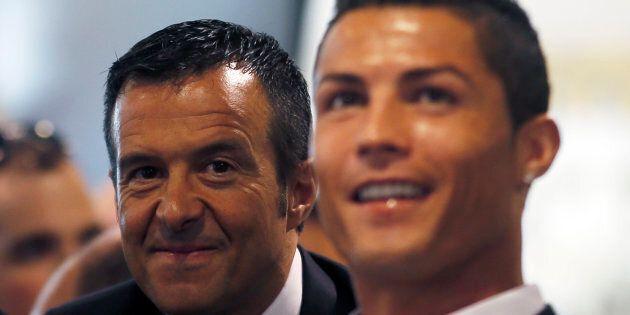 Jorge Mendes ha 12 milioni di motivi per essere felice dell'arrivo di Cristiano Ronaldo alla