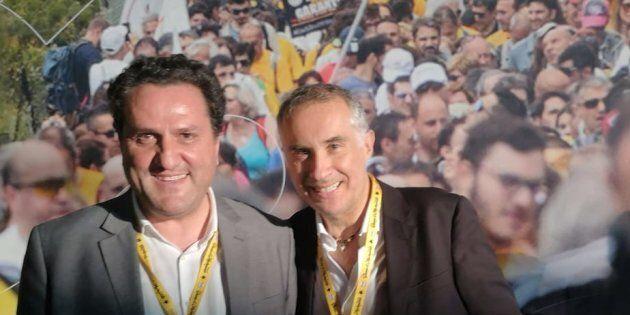 Lello Ciampolillo e Saverio De Bonis:
