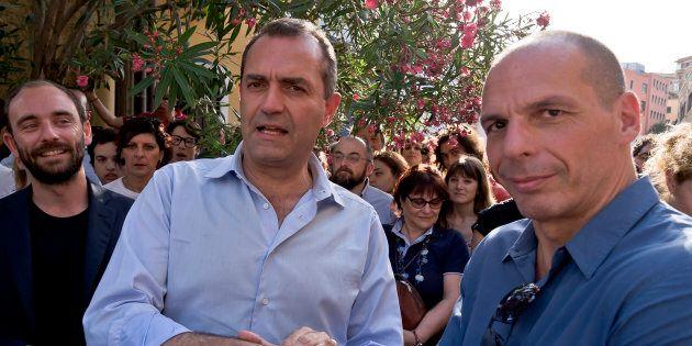 Luigi de Magistris e Yanis Varoufakis lanciano il loro progetto politico per le Europee del