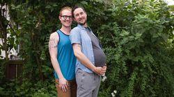 """Non credevo che essere un uomo incinta fosse una cosa straordinaria. Poi sono """"diventato"""