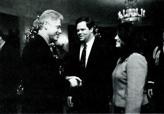 Un incontro tra Monica Lewinsky e il Presidente Clinton il 16 dicembre