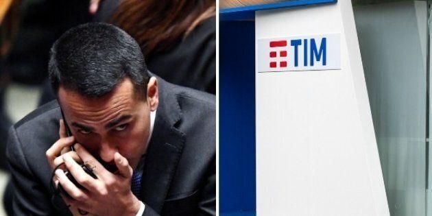 La libera licenza di Luigi Di Maio all'Agcom per imporre la fusione tra Tim e Open