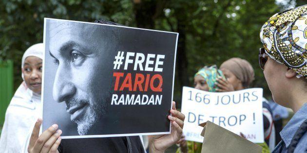 Manifestazione per la liberazione di Tariq