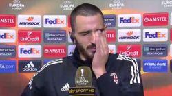 Le lacrime di Bonucci dimostrano il vuoto che Astori lascia nel calcio e non