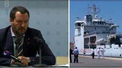 Nave Diciotti attracca nel porto di Trapani, ma Salvini non autorizza lo sbarco. Due migranti indagati per concorso in violen...