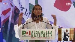 Assemblea Pd, la delegata attacca: