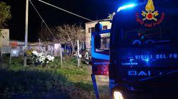 Incendio in un'abitazione in provincia di Macerata: due persone