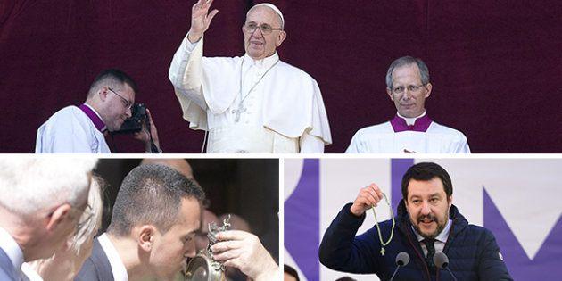 I pensieri di Francesco tra il rosario e san