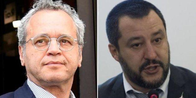 Mentana attacca Salvini sulla vicenda della Diciotti:
