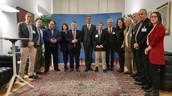 Ebrei e arabo palestinesi a Bolzano per studiare l'esperienza della minoranza