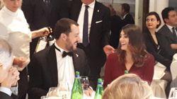 Salvini e Isoardi allo stesso tavolo ad una cena di