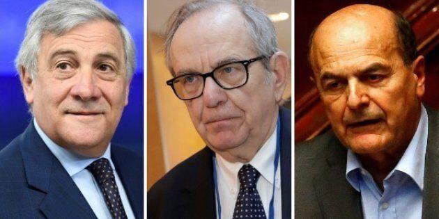 Tajani, Padoan e Bersani pensano già al
