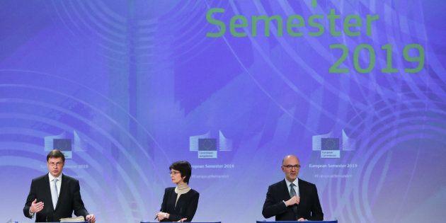 European Commission Vice-President Valdis Dombrovskis, Marianne Thyssen, European Employment, Social...