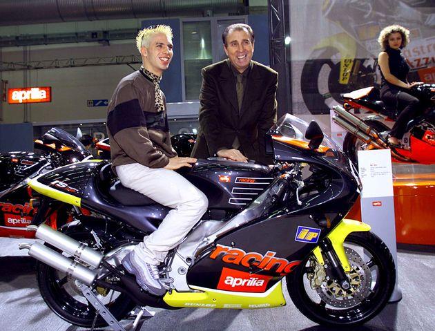 Ivano Beggio con Marco