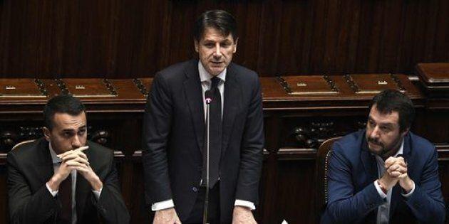 A Palazzo Chigi vertice Conte-Salvini-Di Maio su