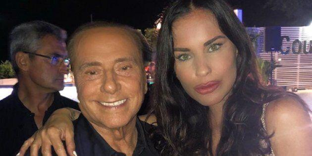 Antonella Mosetti posta una foto con Berlusconi e piovono critiche: