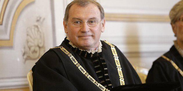 Il giudice costituzionale Nicolo' Zanon in una immagine del 02 dicembre 2014. ANSA/GIUSEPPE