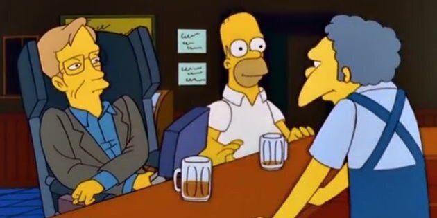 Quella volta che Hawking bevve una birra con Homer (e tutti gli altri cameo dell'astrofisico nei
