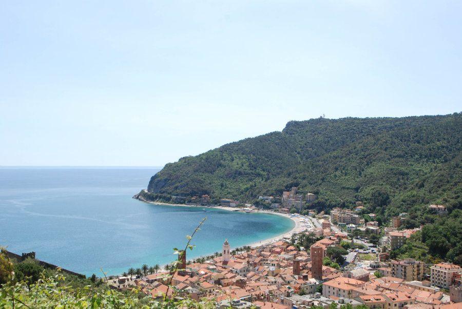 View of Noli, Liguria -