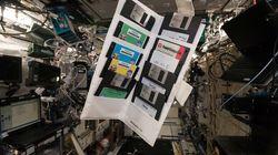 Floppy disk del '95 ritrovati in un armadietto della Stazione Spaziale