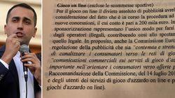 Il divieto totale di pubblicità favorisce il gioco d'azzardo illegale. Un altro caso nella relazione del decreto Dignità (di...